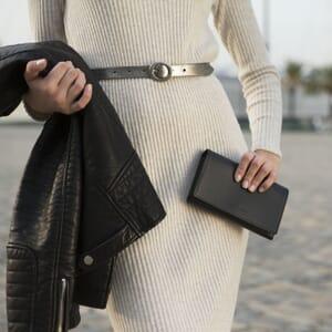 grand portefeuille cuir noir jules & jenn