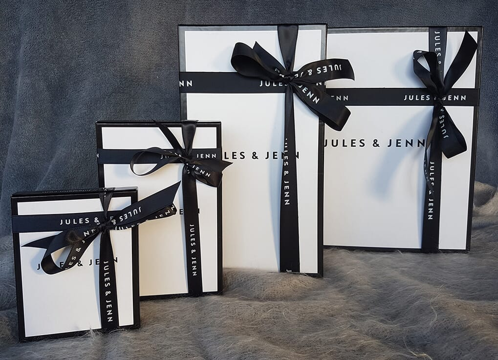 boites cadeaux Jules & Jenn