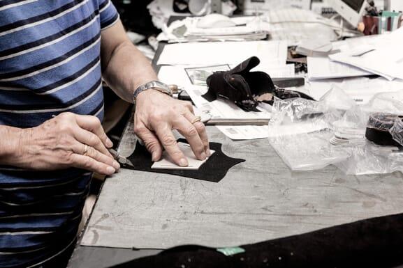 L'atelier de fabrication de chaussures femme, Espagne (Alicante)