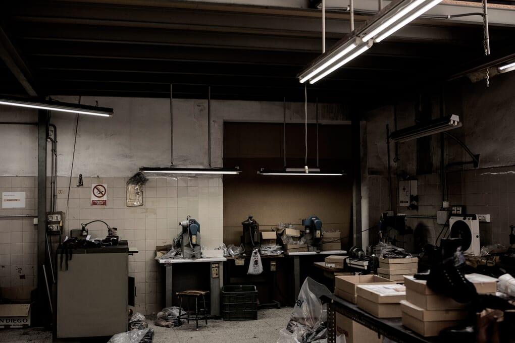 Fabrication chaussure cuir maroquinerie Jules & Jenn