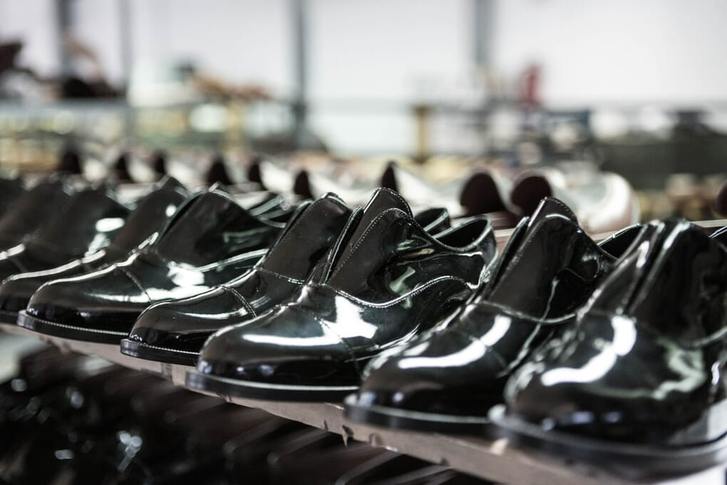 Fabrication chaussure cuir femme derby Jules & Jenn