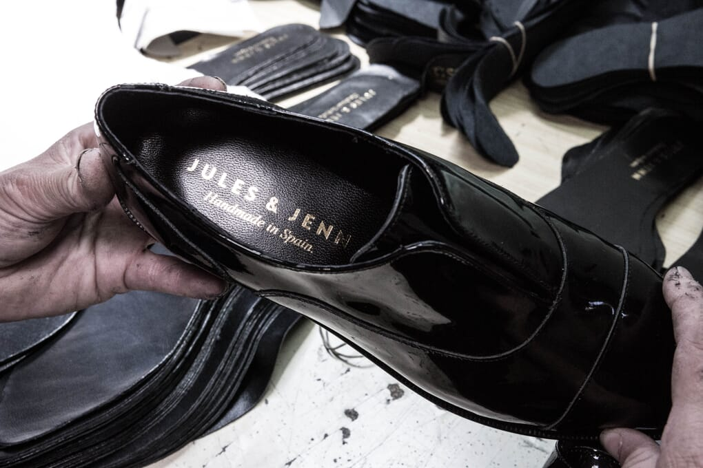Chaussure derby femme cuir verni Jules & Jenn