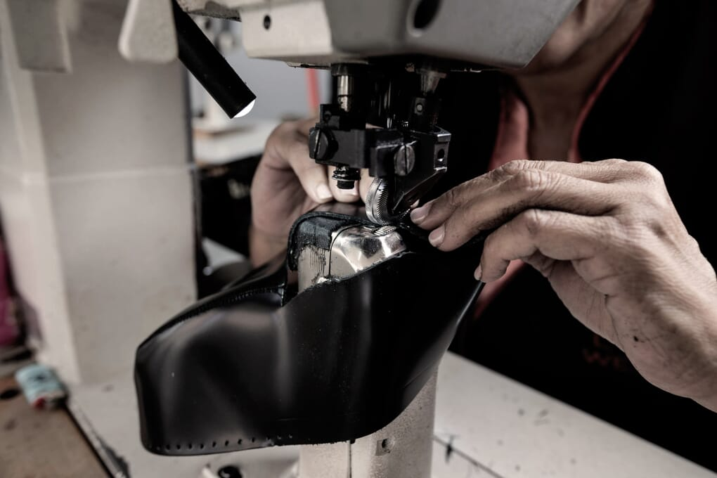 Piqûre chaussures cuir homme Portugal Jules & Jenn