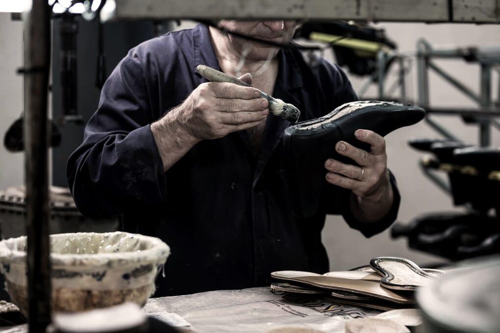 Fabrication chaussures homme cuir Jules & Jenn
