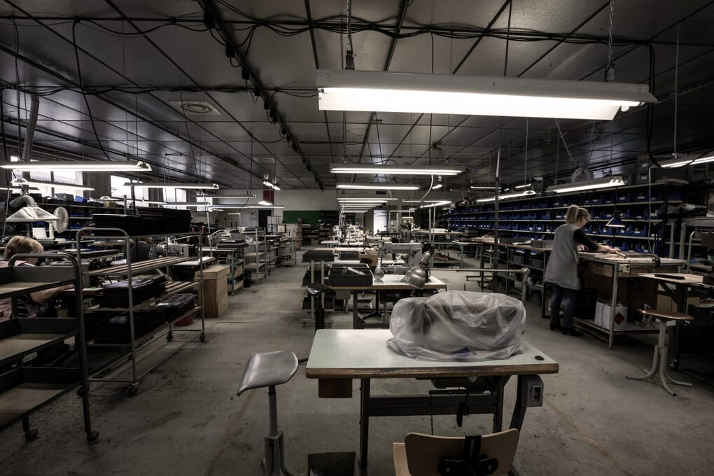 Atelier Graulhet fabrication artisanale coulisses conception sac cabas Savoir-faire tradition Made in France JULES & JENN