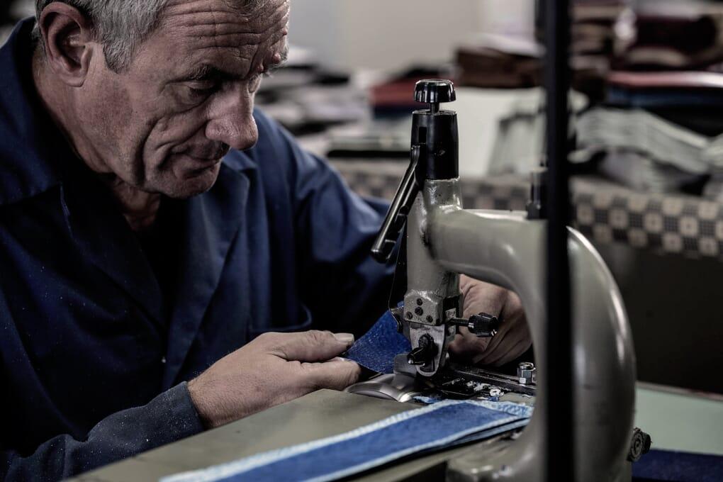 Parage portefeuilles cuir de truite Jules & Jenn Made in France