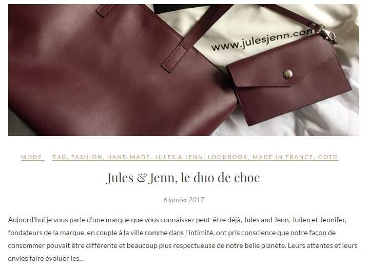 Article Jules & Jenn sur BlackWhite_Loving Interview