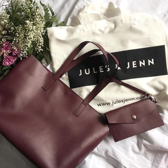 Le sac cabas Jules & Jenn par @BlackWhite_Loving Interview Ambassadrice