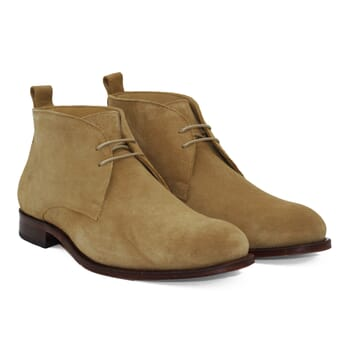 desert boots cuir daim beige jules & jenn
