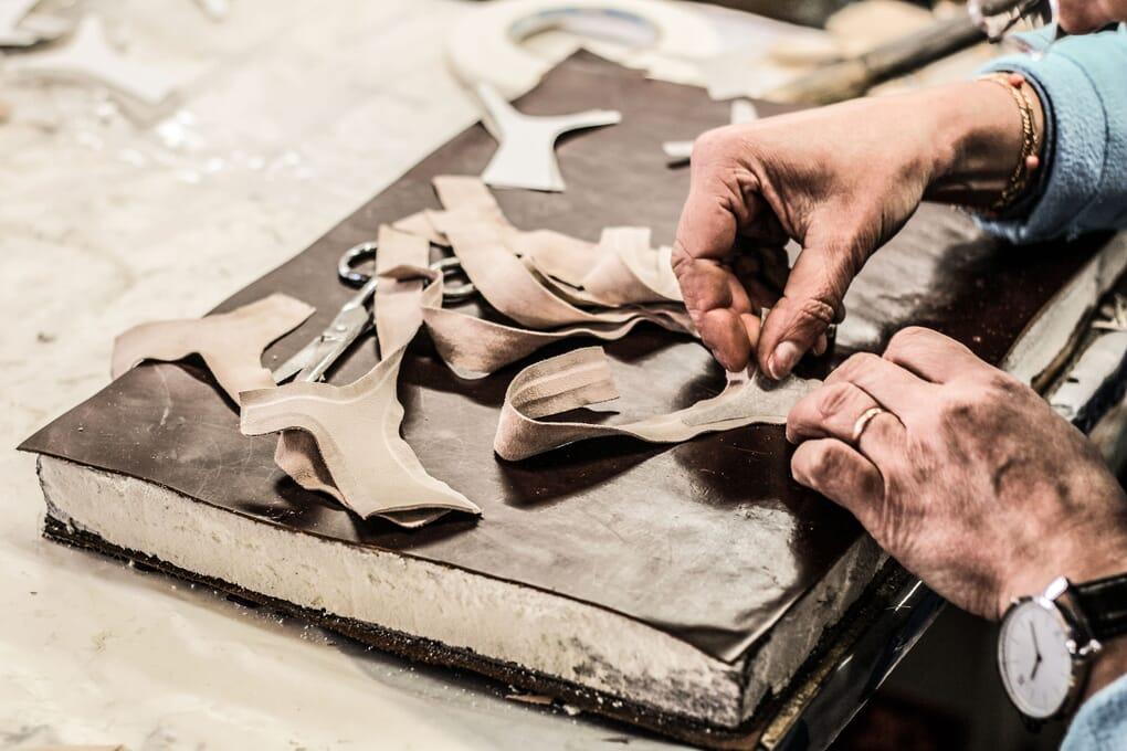 parage piece sandales maroquinerie Jules & Jenn