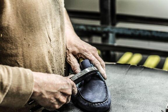 fixation maroquinerie chaussure cuir Jules & Jenn