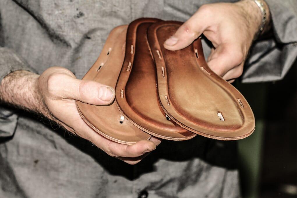 semelle cuir chaussures femme Jules & Jenn