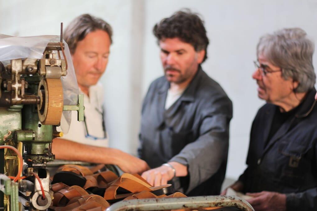 Atelier Florence Fabrication cuir plongé