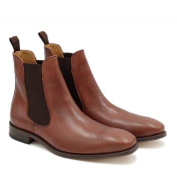 chelsea boots cuir marron jules & jenn