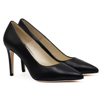 escarpins classiques cuir noir jules & jenn