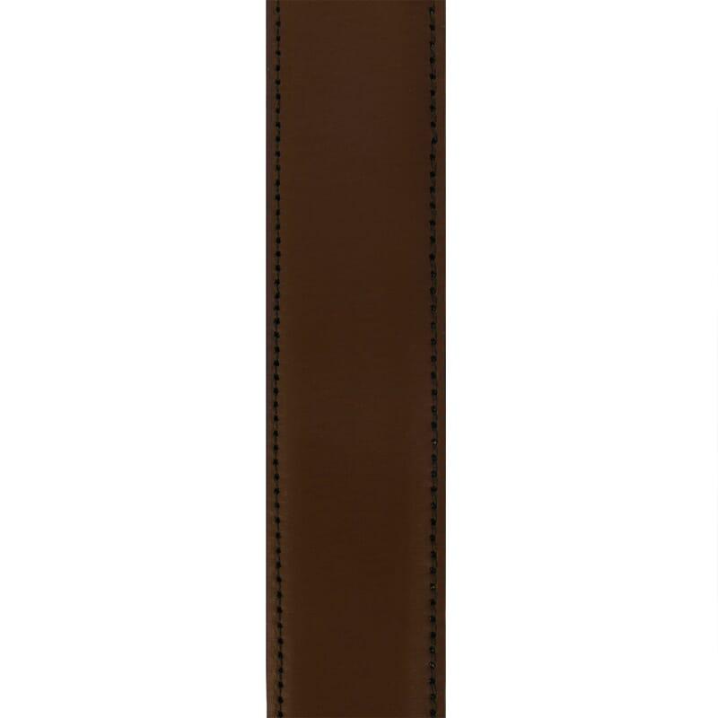 vue corps ceinture classique cuir marron jules & jenn
