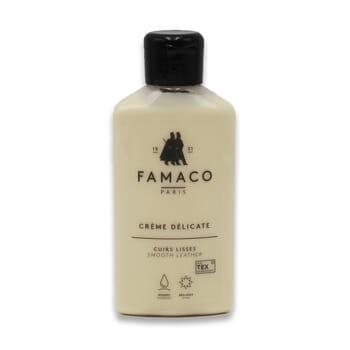 Creme delicate cuir lisse Famaco JULES & JENN