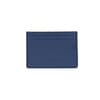 porte-cartes en cuir bleu jules & jenn