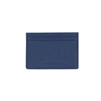 vue arriere du porte-cartes cuir bleu jules & jenn