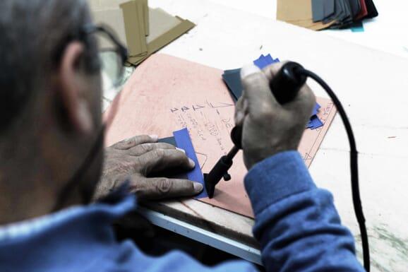 Atelier petite maroquinerie espagne jules & jenn