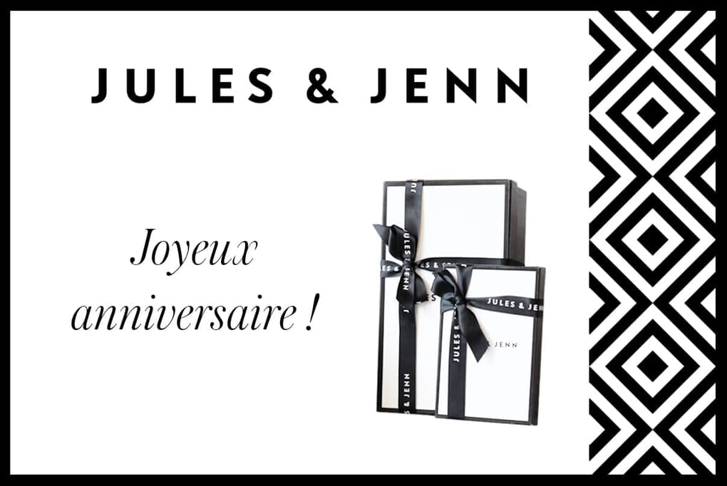 Visuel carte cadeau digitale JULES & JENN