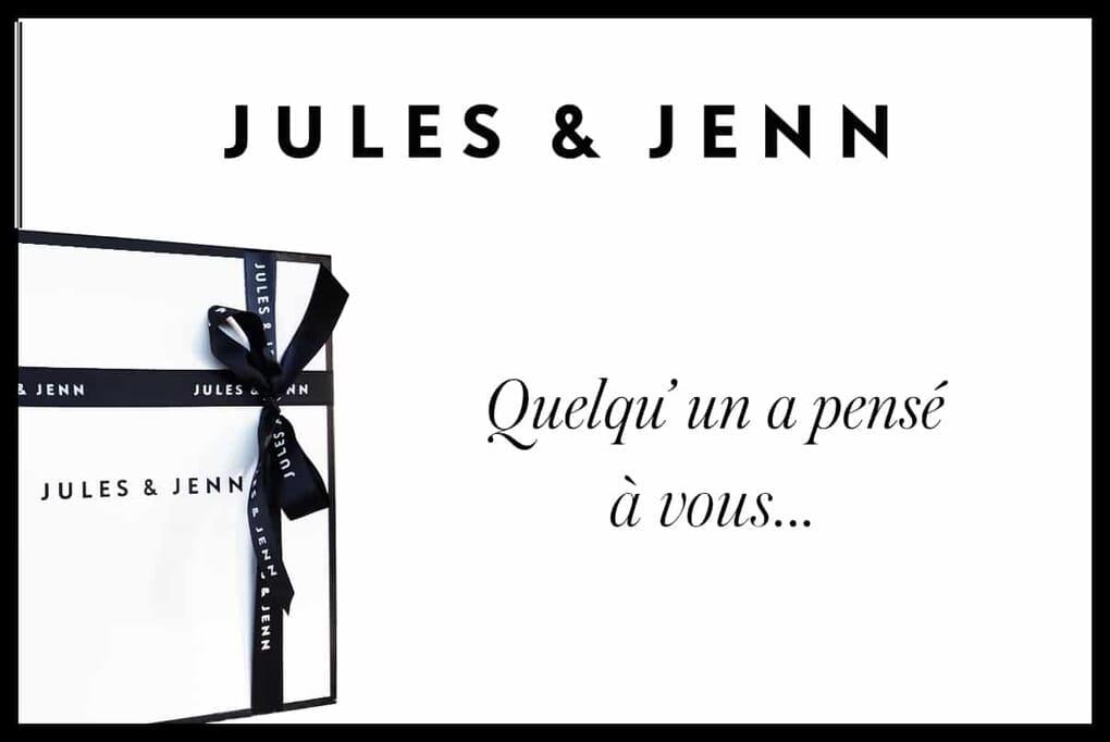 carte cadeau digitale JULES & JENN