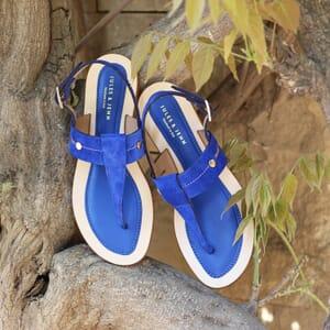 vue posee sandales tropeziennes jules & jenn