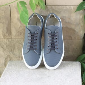 posee exterieure baskets recyclees homme gris jules & jenn