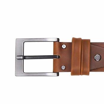 boucle ceinture casual cuir cognac jules&jenn