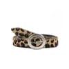 ceinture fine cuir leopard jules & jenn