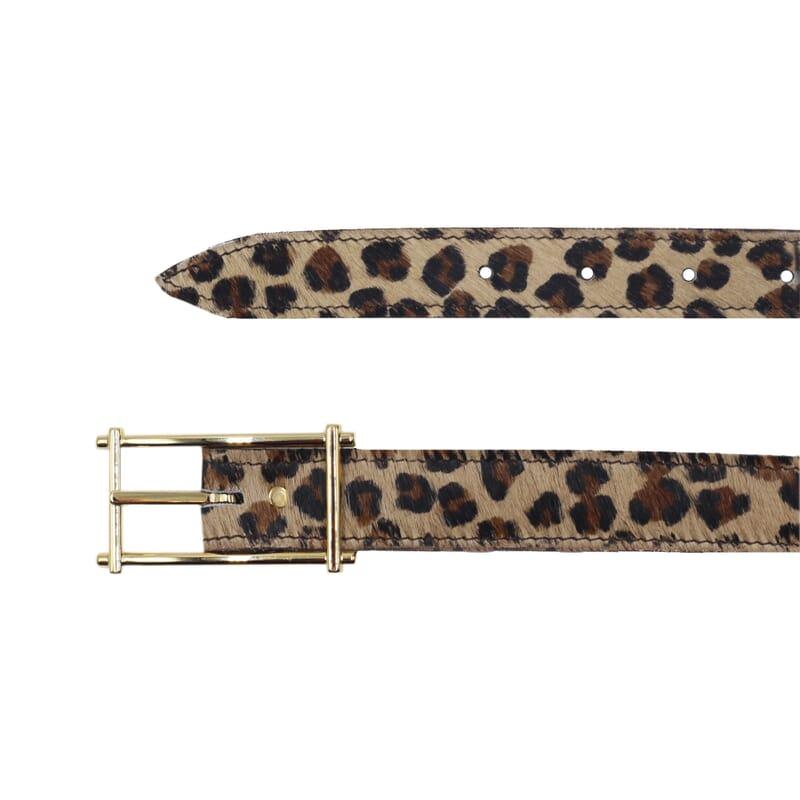 vue dessus ceinture mademoiselle cuir léopard jules & jenn