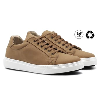 baskets recyclees homme camel jules & jenn