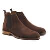 chelsea boots basse homme cuir daim marron jules & jenn