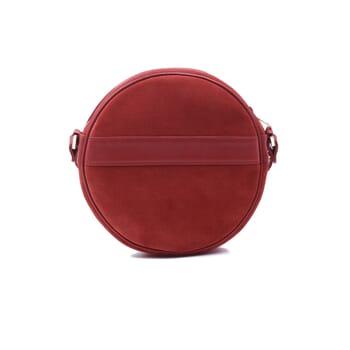vue arrière sac Alice suir daim rouge jules & jenn