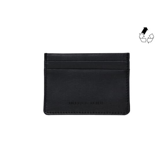 Portefeuille essentiel cuir noir