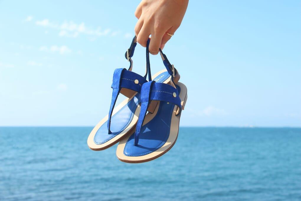 les sandales tropeziennes JULES & JENN
