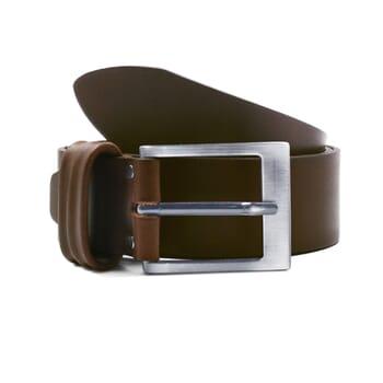 ceinture casual cuir marron jules & jenn