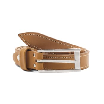 ceinture new-york cuir camel jules & jenn