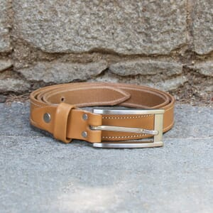vue posée ceinture new york cuir camel jules & jenn