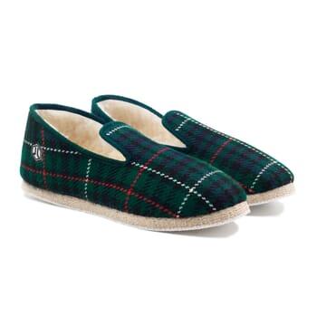 charentaises ecossais vert jules & jenn