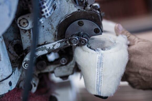 L'atelier de fabrication des charentaises, France (La Rochefoucauld)