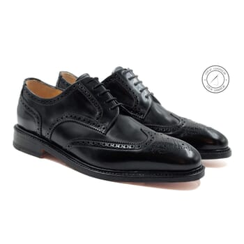 derbies luxe homme cuir noir jules & jenn