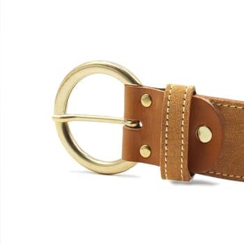 vue boucle ceinture boheme cuir daim camel jules & jenn