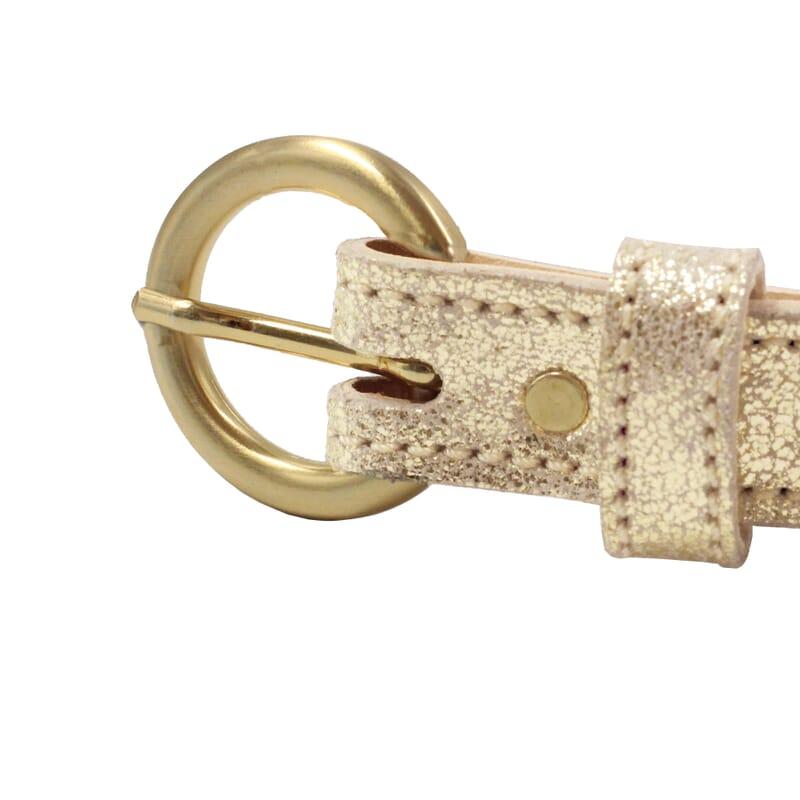 vue boucle ceinture boucle or cuir dore metallise jules & jenn