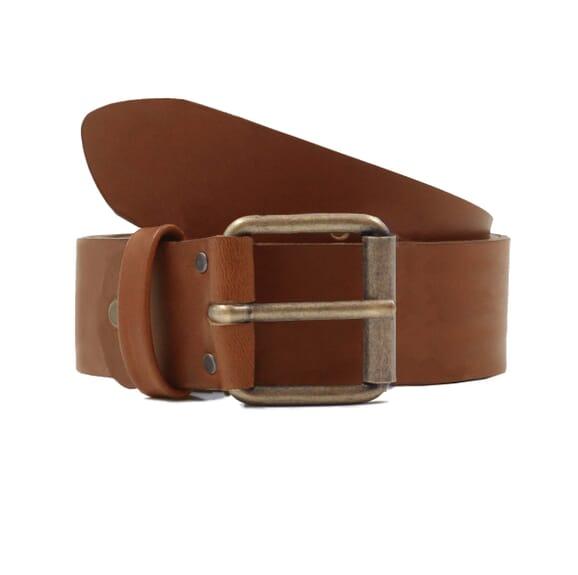 Sandales cuir marron