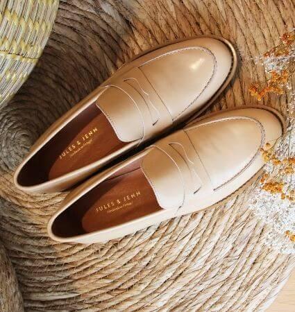 mocassins-femme-cuir-lisse-beige