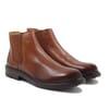 chelsea boots basses cuir cognac jules & jenn