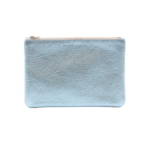 Compagnon cuir bleu royal