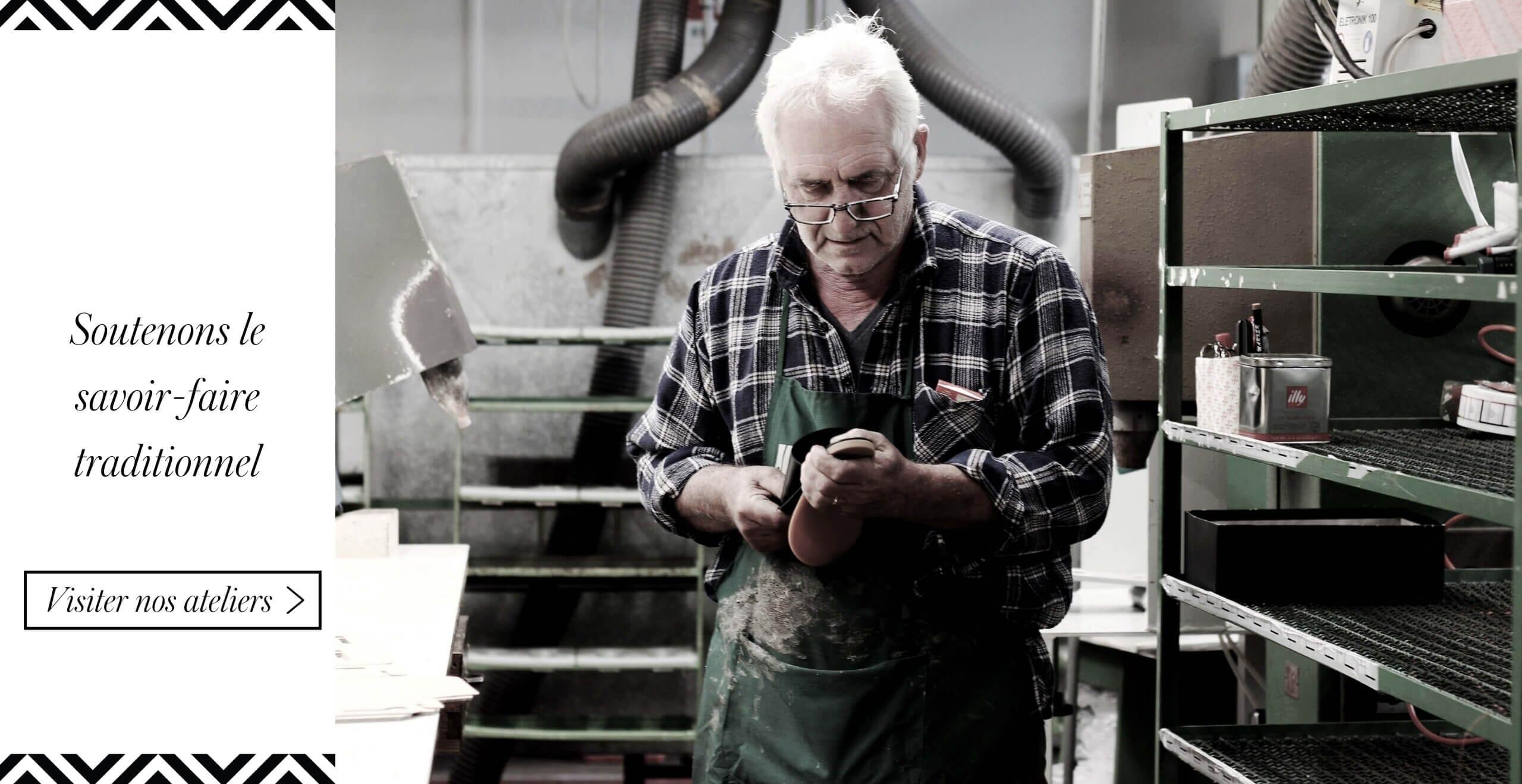 atelier de confection de chaussures a florence jules & jenn