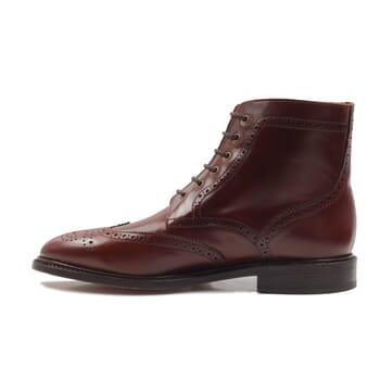 vue interieur boots cousu goodyear cuir cognac jules & jenn